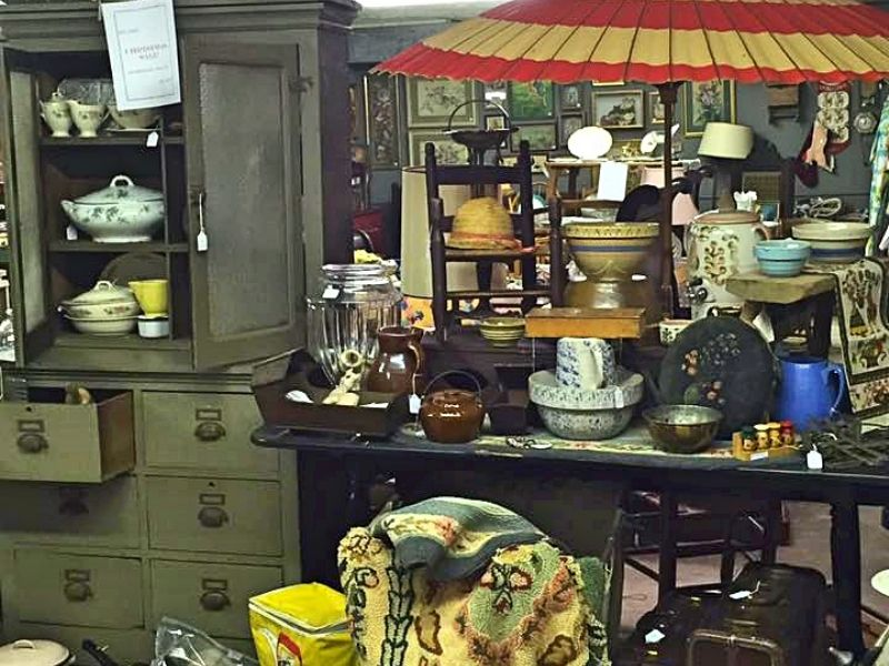 The Street Of Antique Dealers